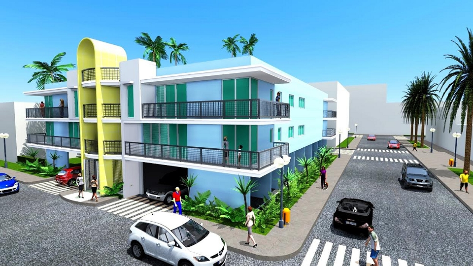 North miami beach 8 unit apartment building etr for Apartment building plans 8 units
